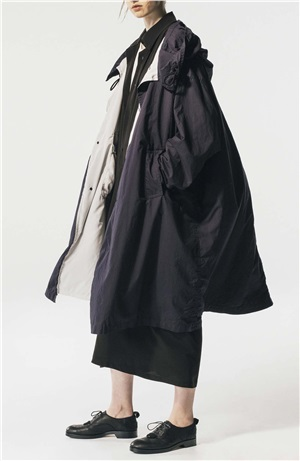 *NEW*Y'S U-BIG HOODED COAT