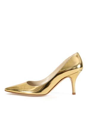 GOLD LACQUERED PUMP 75MM