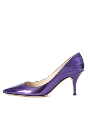 VIOLET LACQUERED PUMP 75 MM