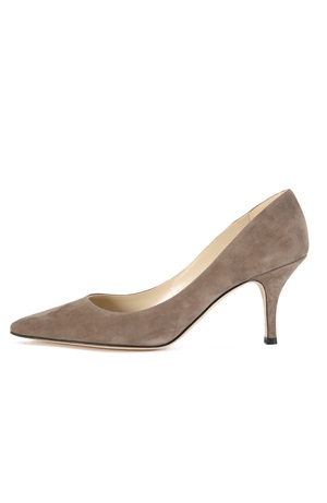 STONE SUEDE PUMP 75MM