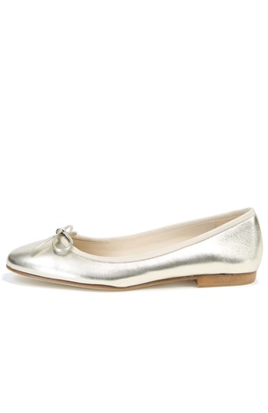 PATENT BALLET LEATHER FLAT