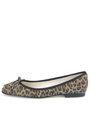 LEOPARD LEATHER BALLET