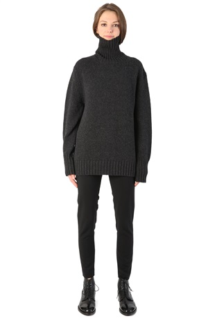 OVERSIZE TURTLENECK CHARCOAL
