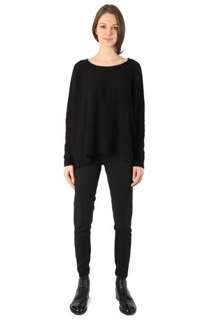 OVERSIZE CASHMERE SWEATER BLACK