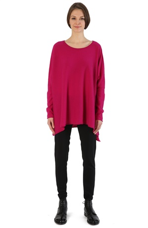 MEDIUM LENGTH CASHMERE SWEATER