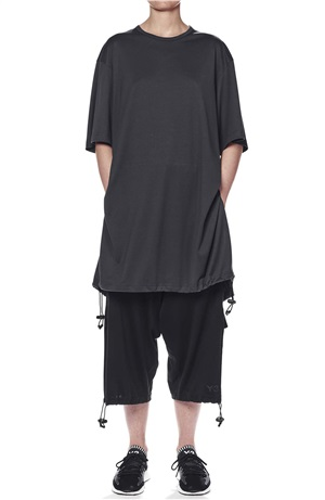 DRAWSTRING LONG SS TEE
