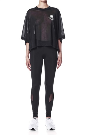 YOHJI LOVE SHEER SS TEE