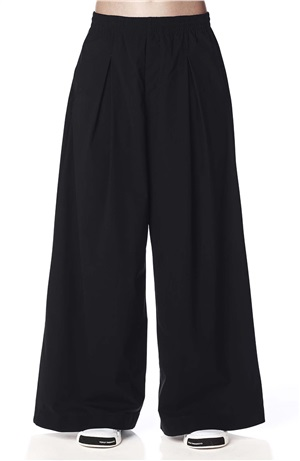LIGHT WOVEN WIDE PANT
