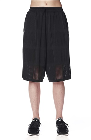 PATCHWORK MESH SHORTS